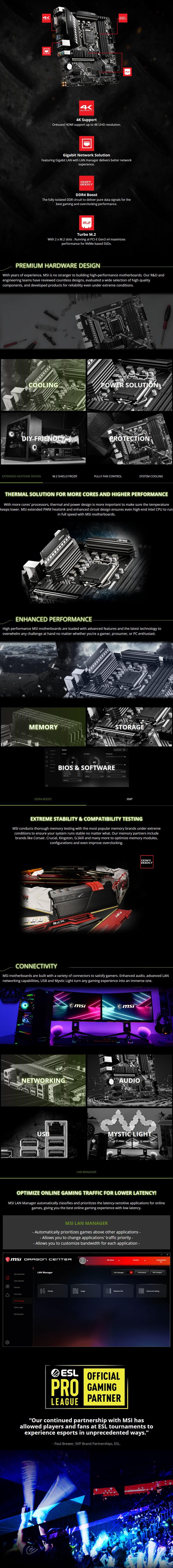MSI MAG B460M BAZOOKA LGA 1200 Micro-ATX Motherboard - Overview 1