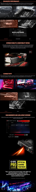 MSI MEG Z490i UNIFY LGA 1200 Mini-ITX Motherboard - Overview 2