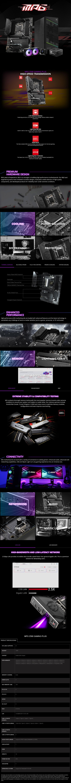 MSI MPG Z590 GAMING PLUS LGA 1200 ATX Motherboard - Overview 1