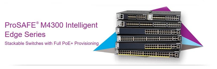 Netgear ProSAFE M4300-24X 24-Port Managed Switch - Overview 1