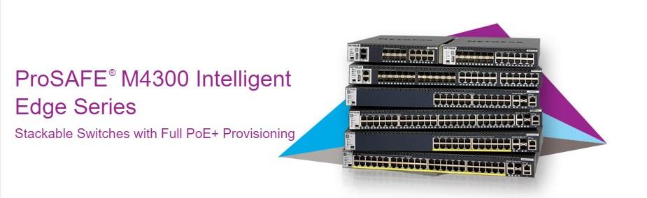 Netgear ProSAFE M4300-52G-PoE+ 48-Port Gigabit Managed Switch - Overview 1