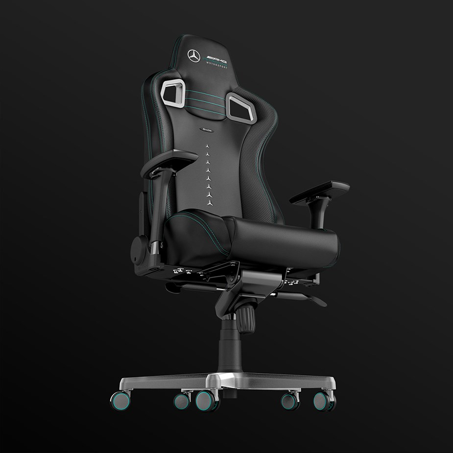 noblechairs EPIC Series PU Leather Gaming Chair - Mercedes-AMG Petronas Edition - Overview 4