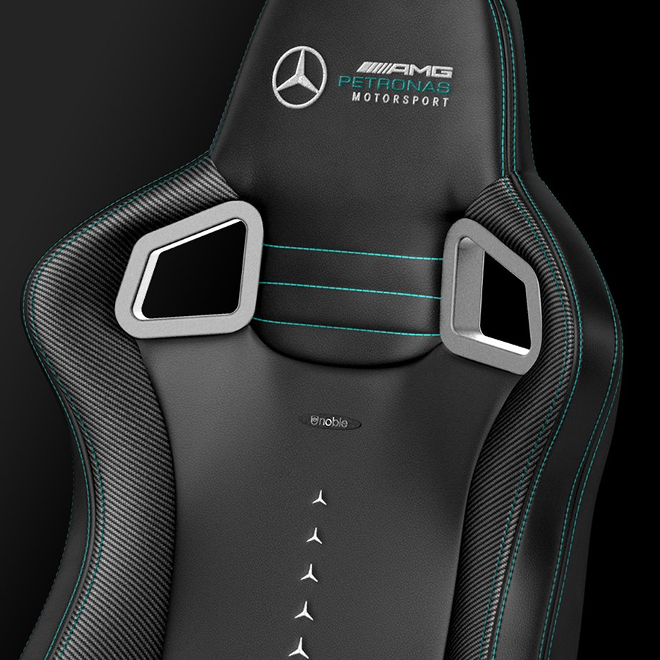noblechairs EPIC Series PU Leather Gaming Chair - Mercedes-AMG Petronas Edition - Overview 5