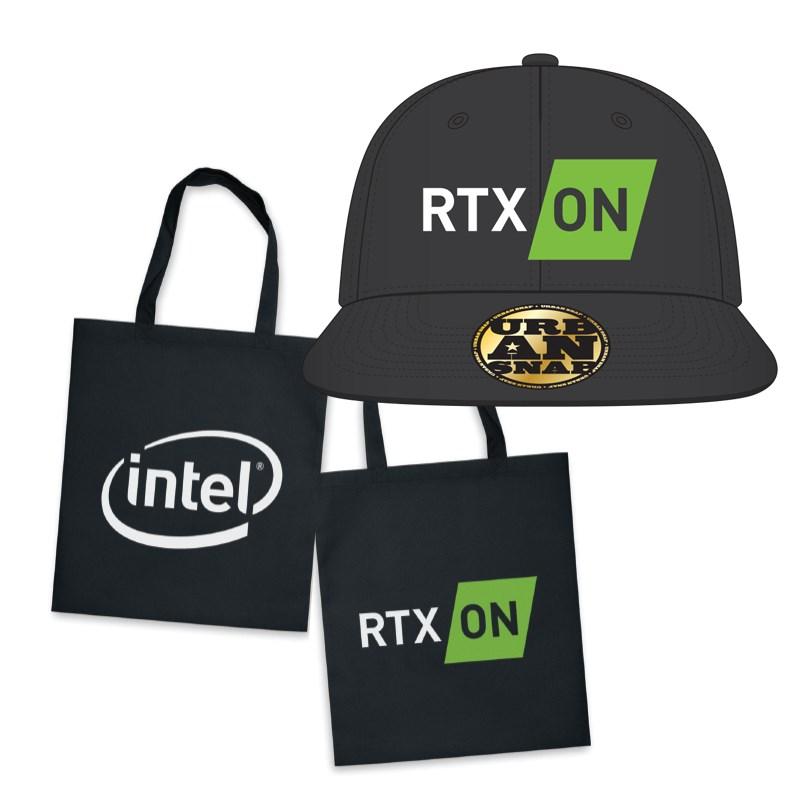 Nvidia x Intel Hat + Tote Bag