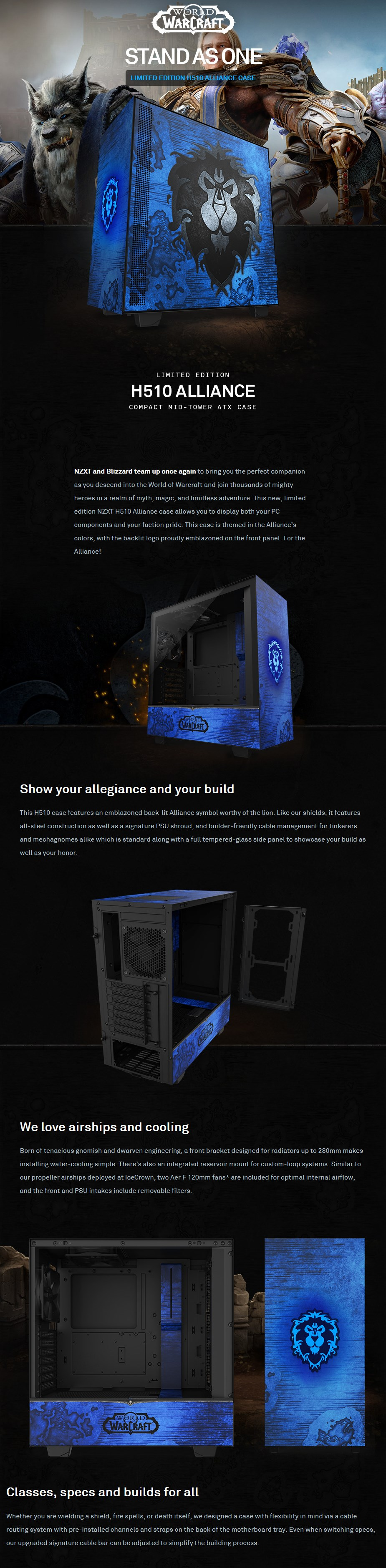NZXT H510 Tempered Glass Mid-Tower ATX Case - Alliance Edition - Overview 1