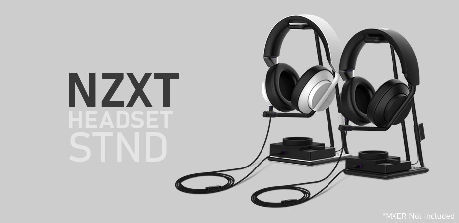 NZXT STND Headset Stand - White - Overview 1