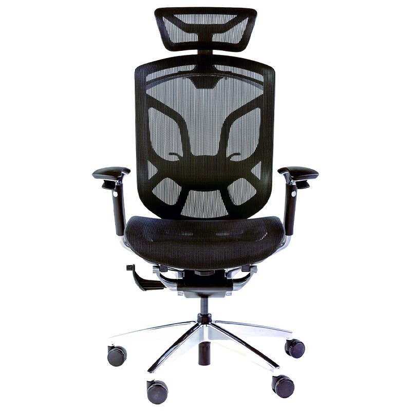 ONEX GT-DV-10E Office/Gaming Chair - Black/Silver - Overview 1