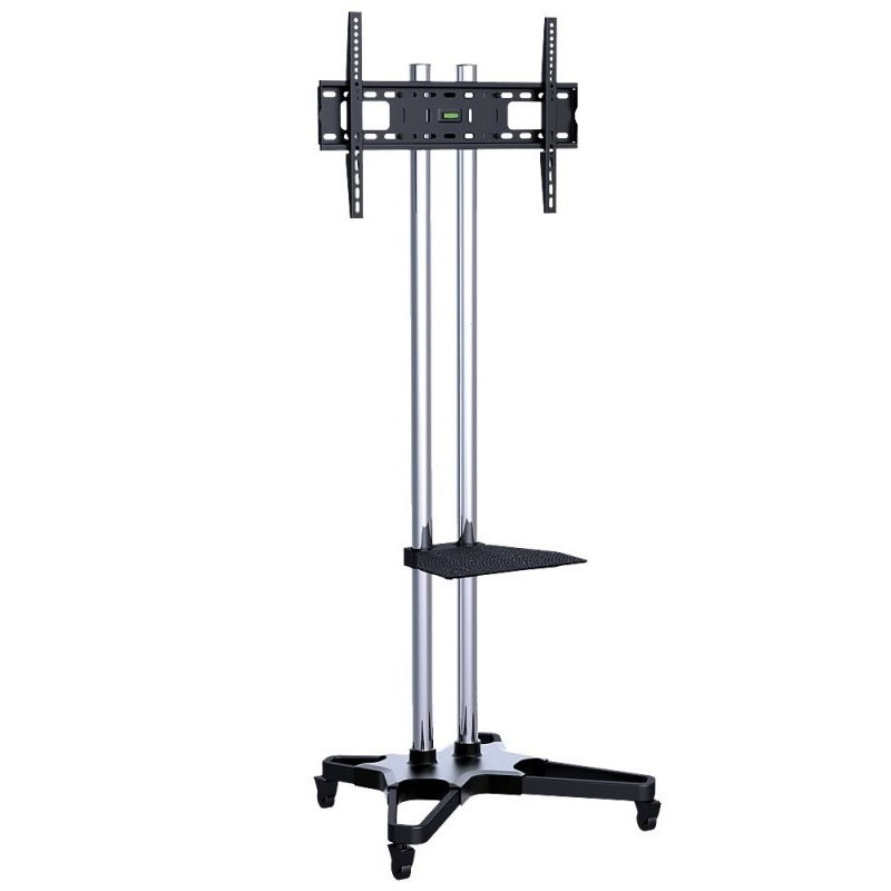 "Q-Tee Q1021S 37""-70"" TV Heavy Duty Mobile Cart With Mount"