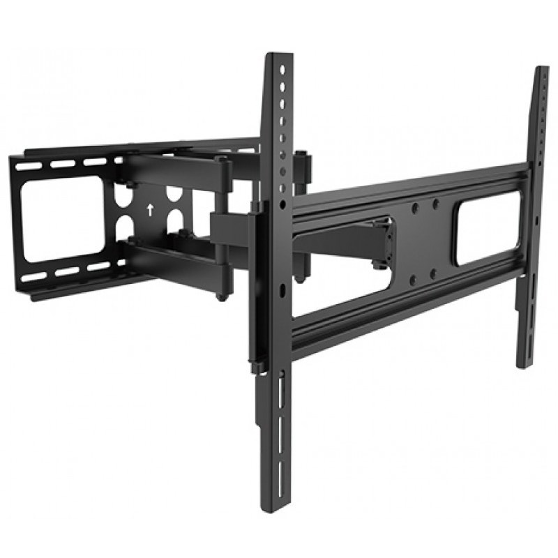 "Q-Tee QPA36-466 40""-70"" TV Economy Articulating Curved & Flat Panel Wall Mount - Overview 1"