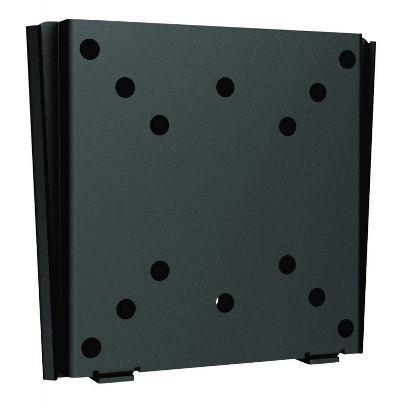 "Q-Tee LDC-201B 13""-27"" TV Economy Super Slim Fixed Wall Mount - Black - Overview 1"