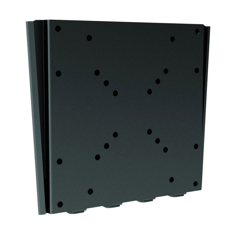 "Q-Tee LDC-201LB 27""-32"" TV Economy Super Slim Fixed Wall Mount - Black - Overview 1"
