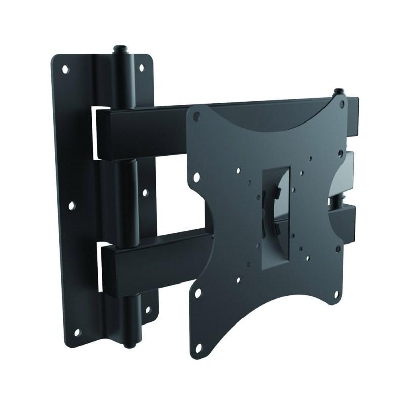 """Q-Tee LDC-WA5B 19""""-32"""" TV Three Pivot Points Swivel LCD Bracket - Black"""