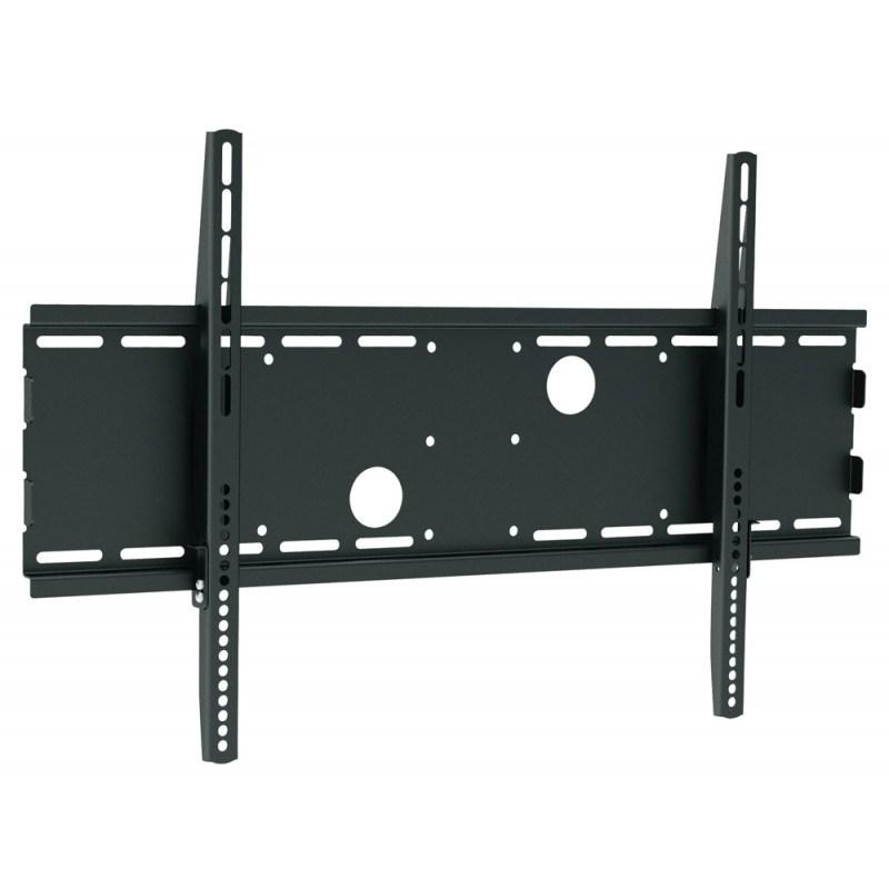 "Q-Tee PB-13B Universal 40""-65"" TV Large Flat Wall Mount Bracket - Black - Overview 1"