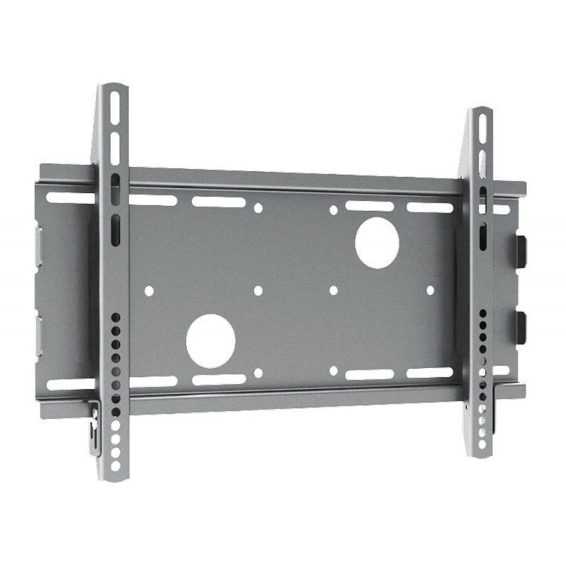 "Q-Tee PB-17S Universal 23""-32"" TV Medium Flat Wall Mount Bracket - Silver - Overview 1"
