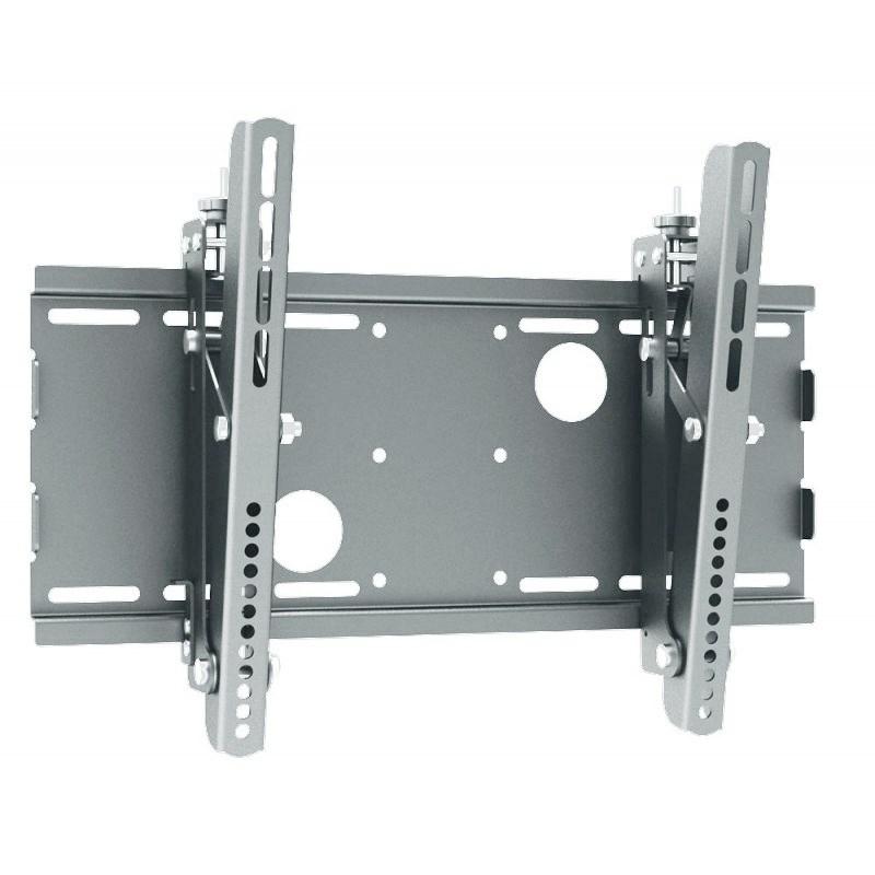 """Q-Tee PB-18S Universal 23""""-32"""" TV Medium Tilt Wall Mount Bracket - Silver - Overview 1"""