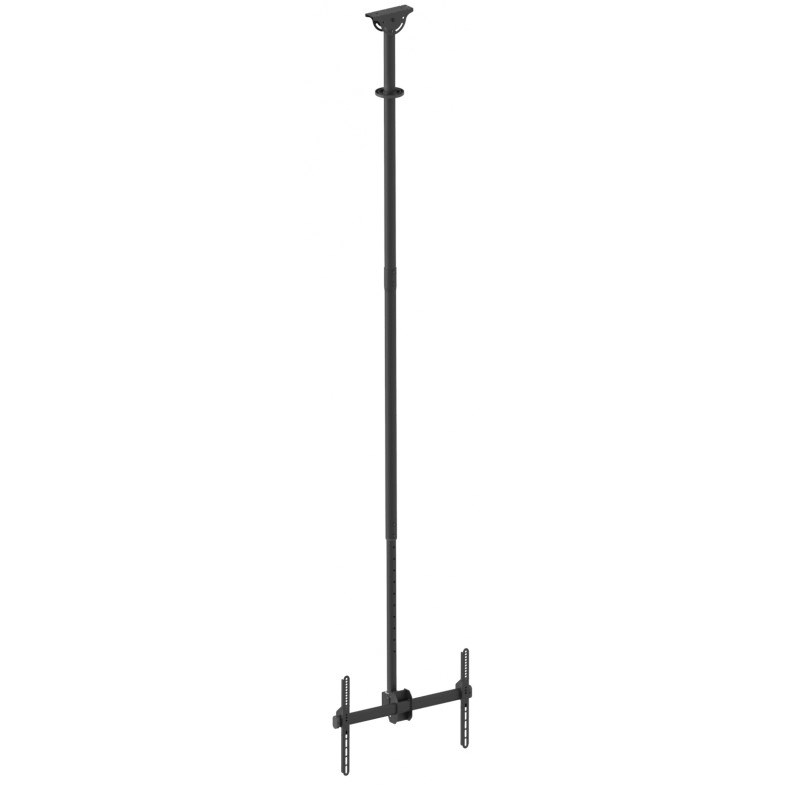 "Q-Tee QLB-CE946-01XL 40""-70"" TV Single Display 2.5-3m Adjustable Ceiling Mount"