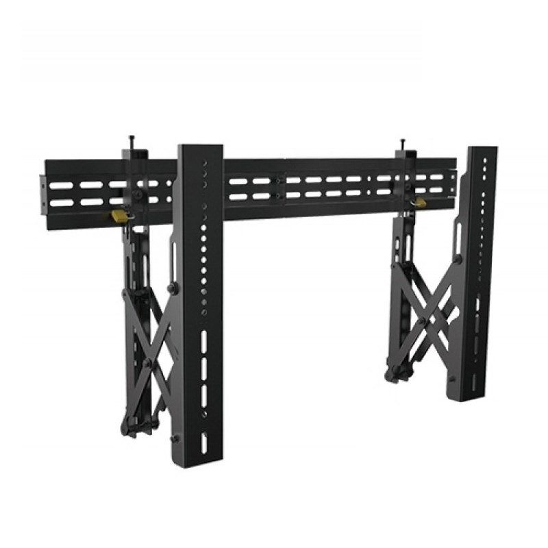 """Q-Tee QW02-48T 40""""-70"""" Landscape Display Commercial Economy Video Wall Mount - Overview 1"""
