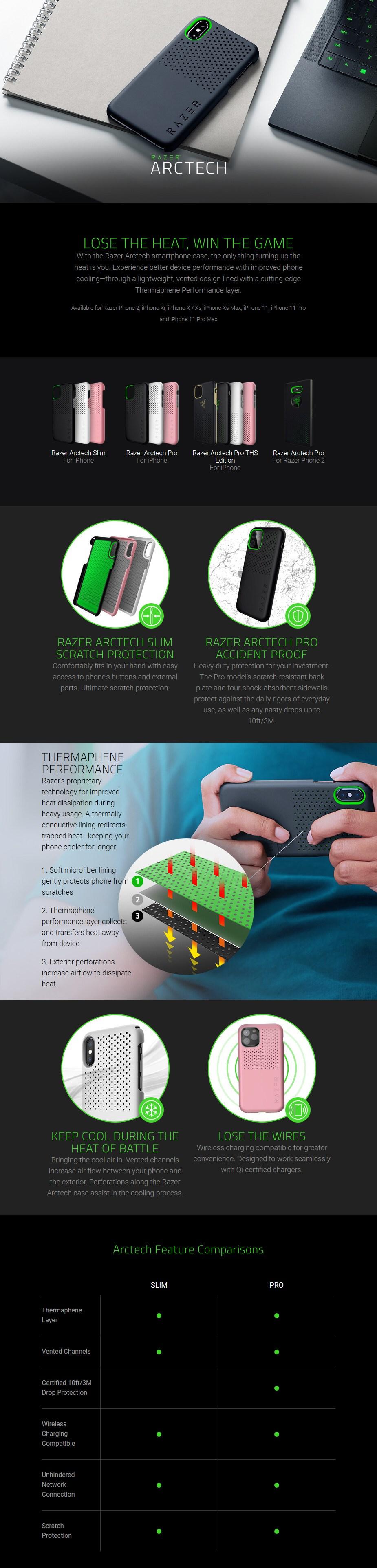 Razer Arctech Phone Case Series - Overview 1