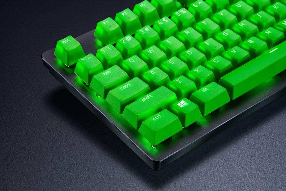 Razer Doubleshot PBT 104-Key Keycap Upgrade Set - Green - Overview 2