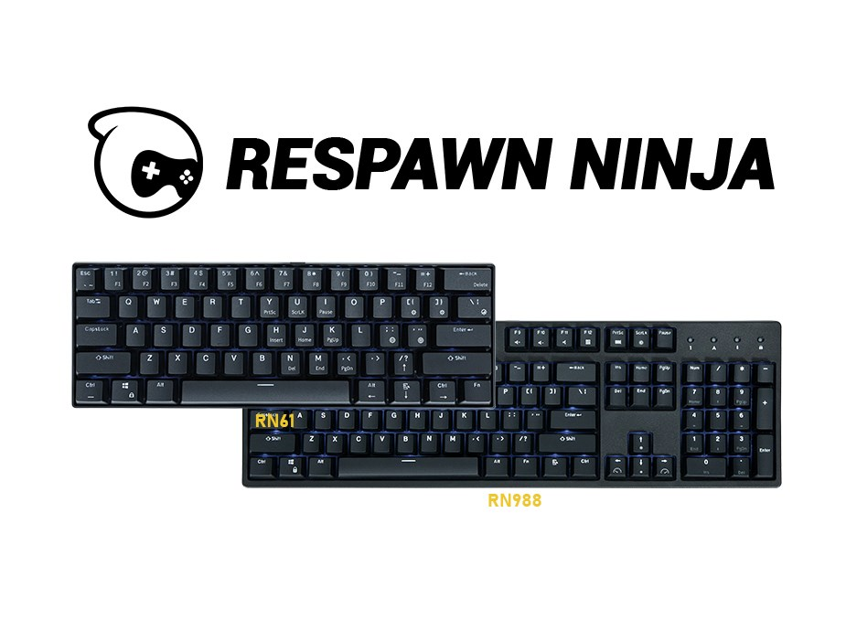 Respawn Ninja RK988 Mechanical Gaming Keyboard - Overview 1