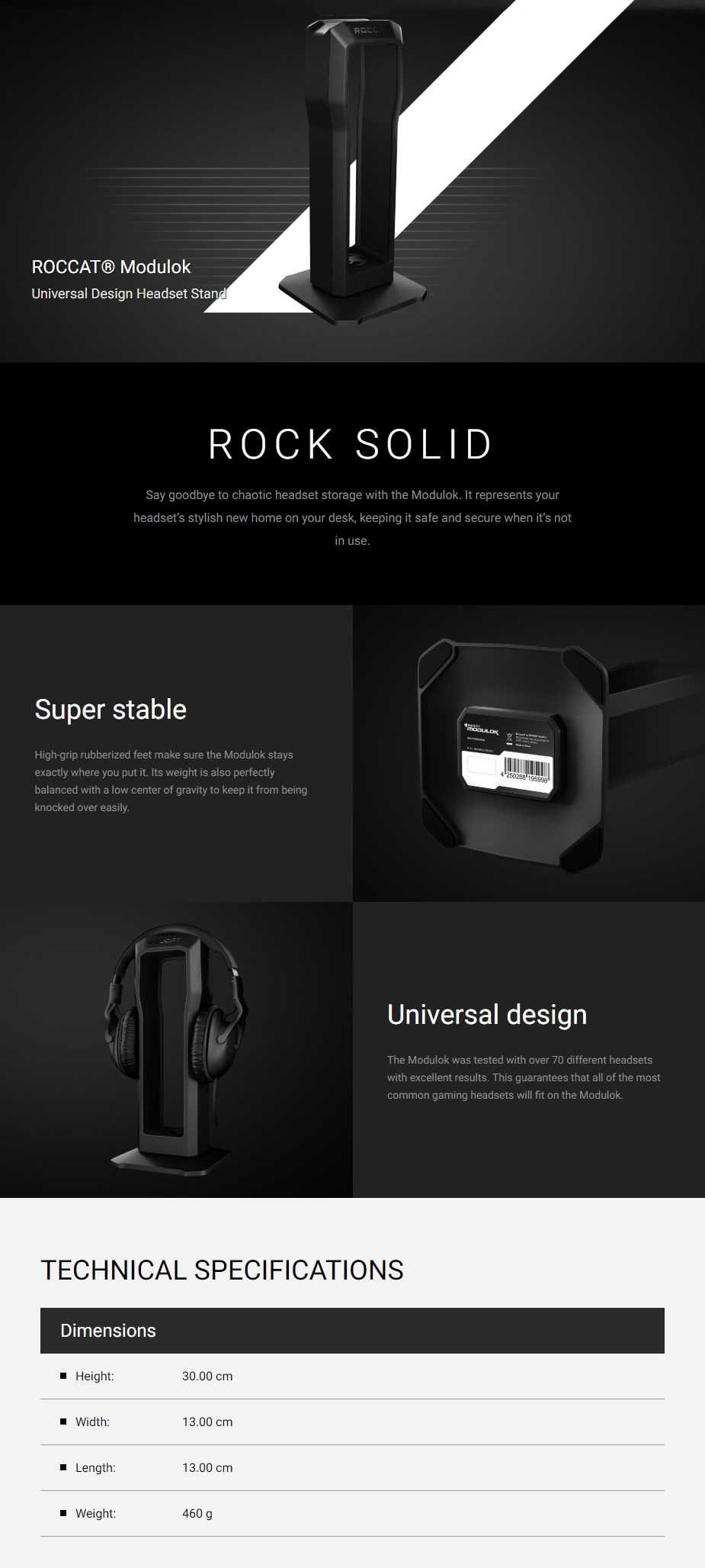Roccat Modulok Modular Headset Stand - Overview 1