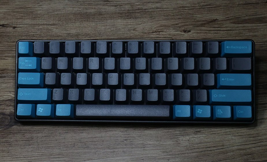 Tai-Hao MX Switch Doubleshot PBT 104-Key ANSI Keycap Set - Midnight Green/Black - Overview 2