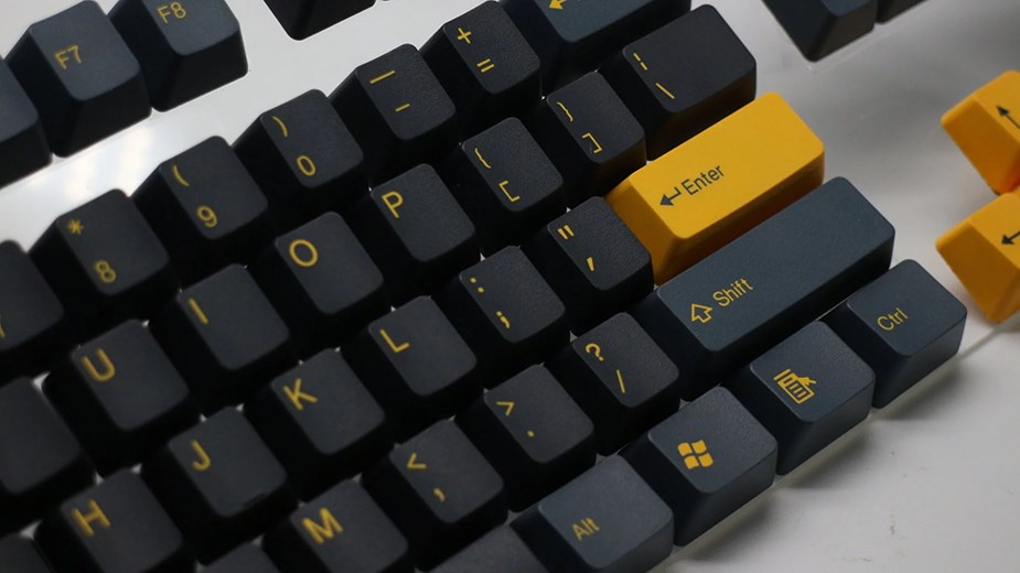 Tai-Hao MX Switch Type Doubleshot PBT 104-Key ANSI Keycap Set - Dark Night - Overview 4