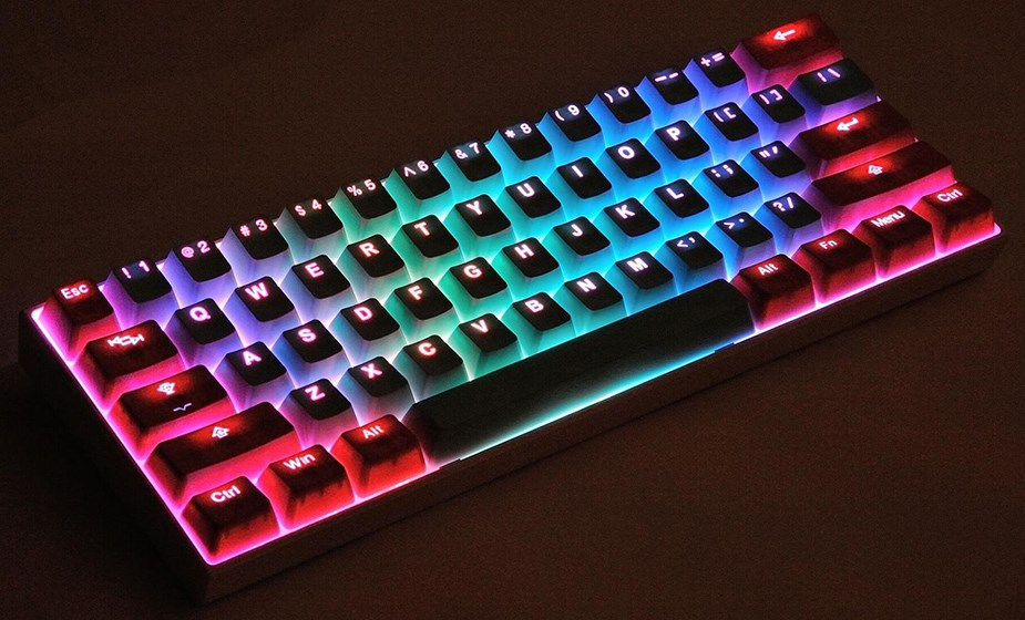 Tai-Hao MX Switch Type Doubltshot PBT Backlit 116-Key Keycap Set - Miami Lights - Overview 3