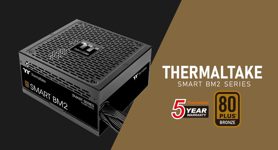 Thermaltake Smart BM2 Series Power Supply - Banner
