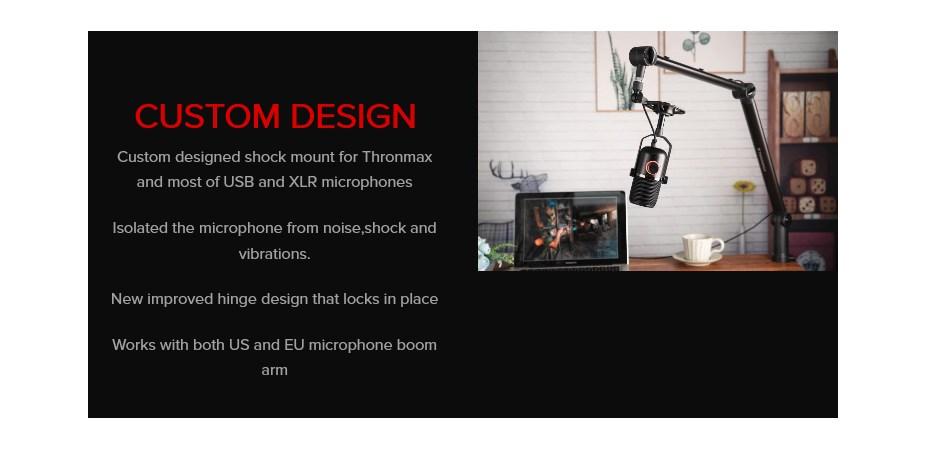 Thronmax Expert Shock Mount - Black - Overview 1