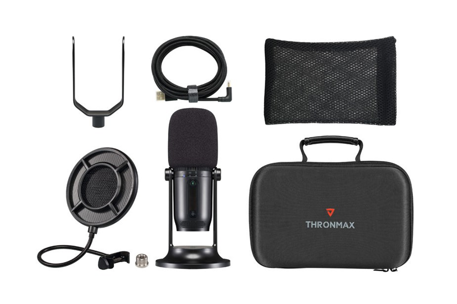Thronmax MDrill One Pro Cardioid Condenser Microphone - Jet Black - Overview 2