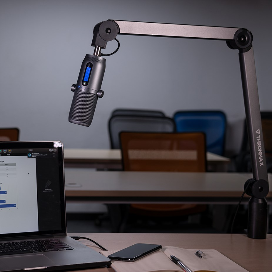 Thronmax S1 Caster Boom Desk Arm - Overview 4