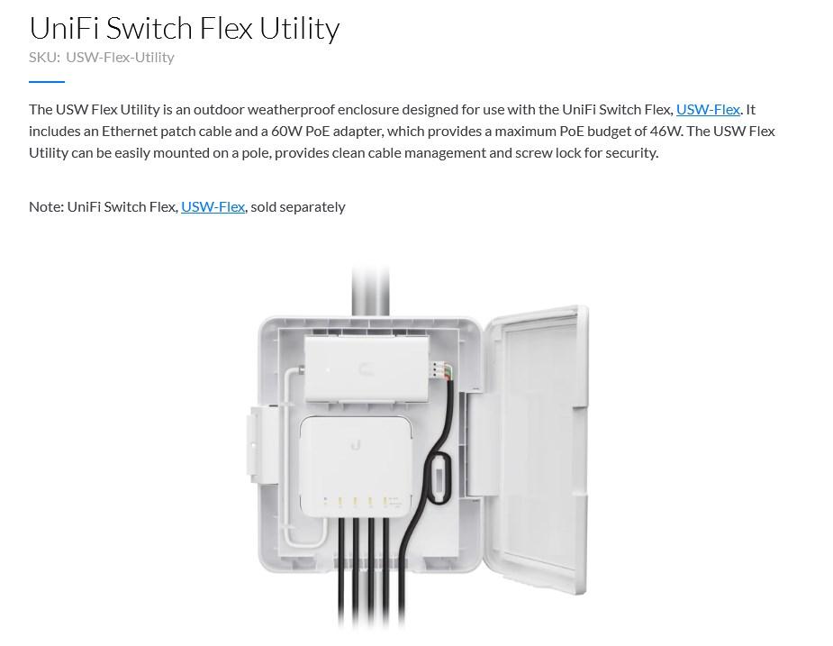 Ubiquiti UniFi Switch Flex Utility - Overview 1