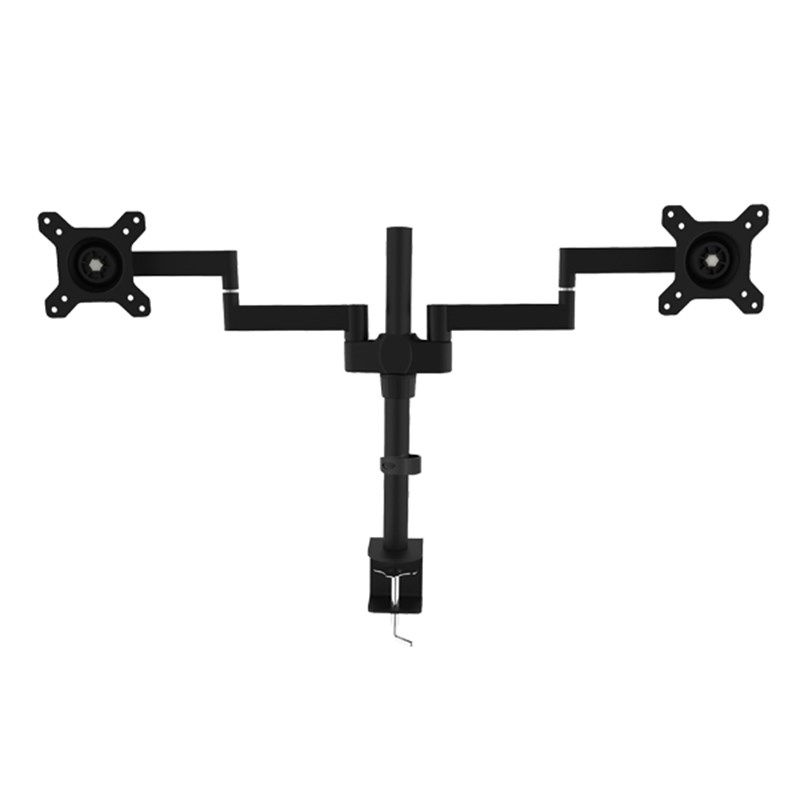 "Vision Mounts Dual LCD Monitor Extendable Arm Desk Mount 13""-27"" - Overview 1"
