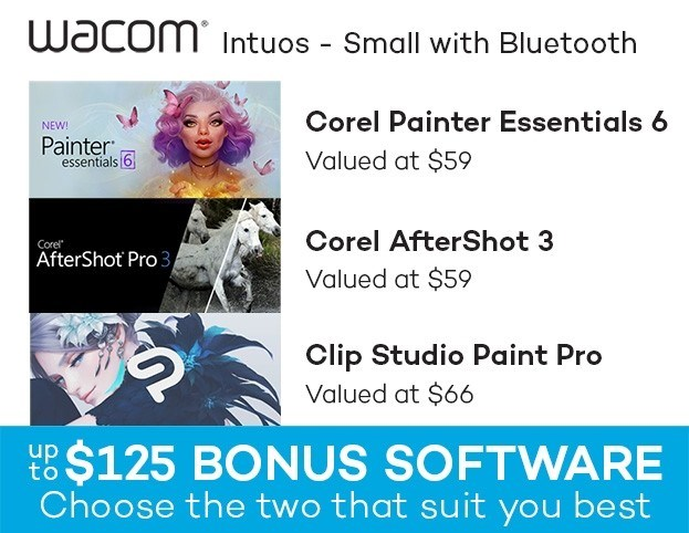 Wacom Intuos Small with Bluetooth - Black - Overview 2