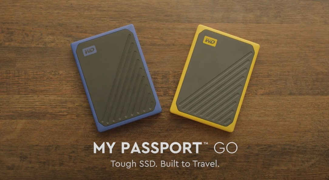 WD My Passport Go External Portable Storage - Picture 1