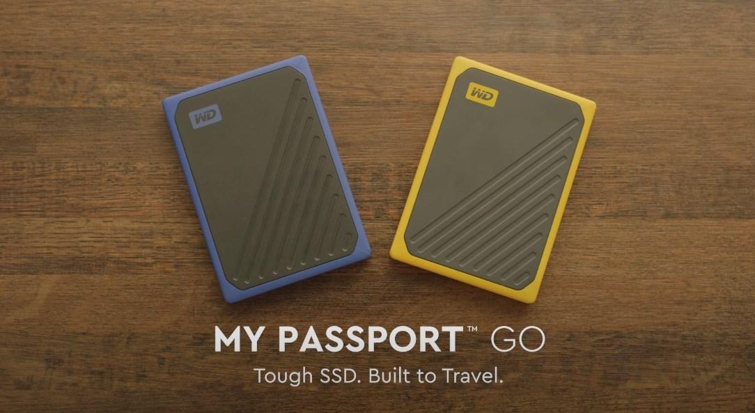 WD My Passport Go External Portable Storage - Picture 1