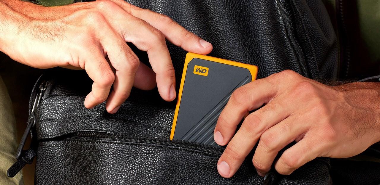 WD My Passport Go External Portable Storage - Picture 3