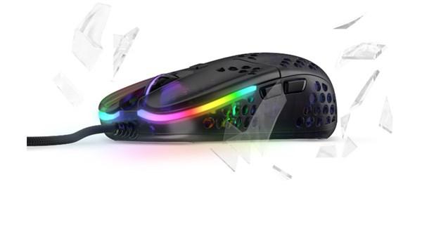 Xtrfy MZ1 Zy's Rail RGB Optical Gaming Mouse - Black - Desktop Overview 7